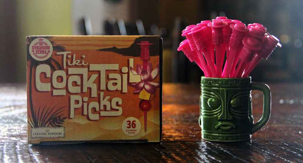 Beachbum Berry Tiki Cocktail Picks