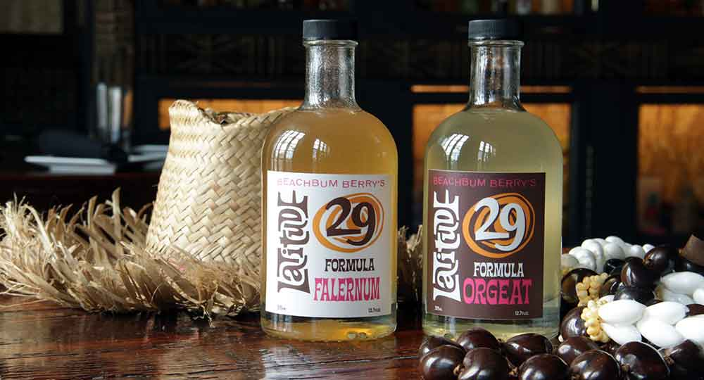 Latitude 29 Formula Orgeat and Falernum